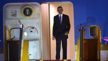 Obama llegó a Japón para la cumbre del G7