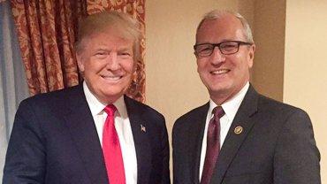 Donald Trump y Kevin Cramer