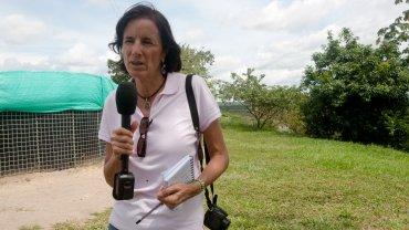 La periodista Salud Hernández desapareció el sábado cuando realizaba un reportaje en la convulsa región del Catatumbo,fronteriza con Venezuela