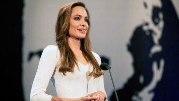 Angelina Jolie es embajadora de ACNUR