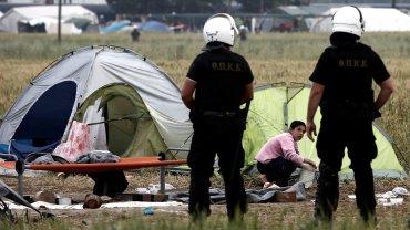 El campo de refugiados de Idomeni, en Grecia