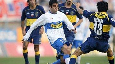 Luis Nuñez jugó en la U de Chile entre 2006 y 2007 y entre 2008 y 2009