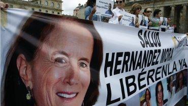 Los colombianos salieron a las calles para pedir por Salud Hernández