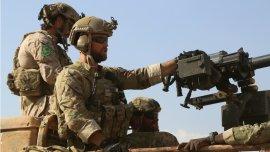 El cañón Mk 47 y los cascos de bajo perfil son característicos de las tropas especiales de EEUU