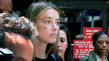 Así se presentó Amber Heard a los tribunales de Los Àngeles