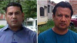 El periodista Diego DPablos y el camarógrafo Carlos Melo, liberados por el ELN