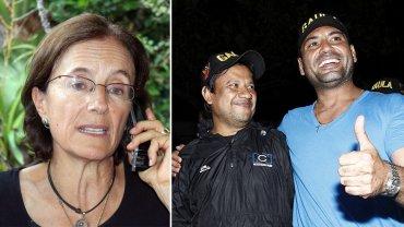 Los tres periodistas secuestrados por el ELN
