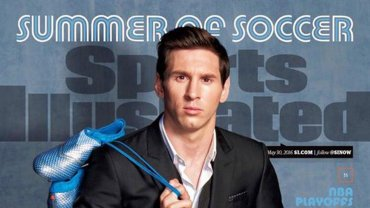 Lionel Messi es la nueva tapa de Sport illustrated