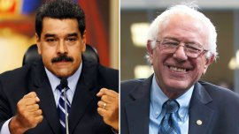 Nicolás Maduro pareció apoya al candidato demócrata Bernie Sanders con sus dichos