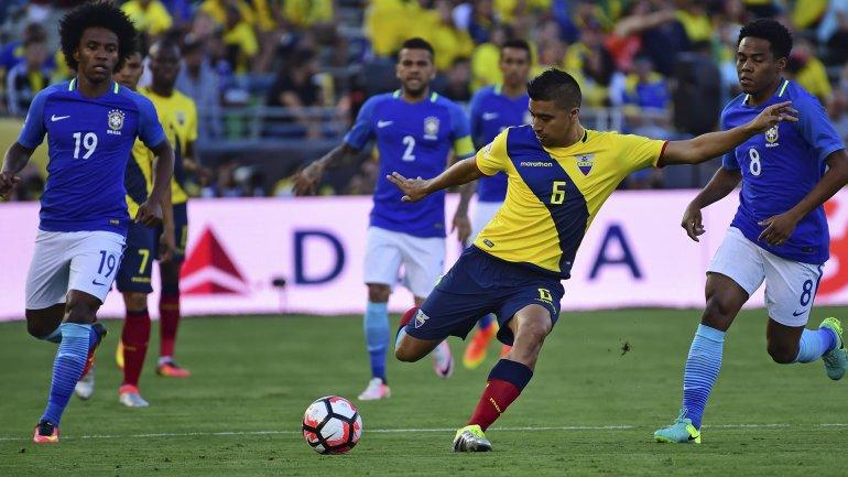 Brasil y Ecuador cierran la primera jornada del Grupo B de la Copa América Centenario