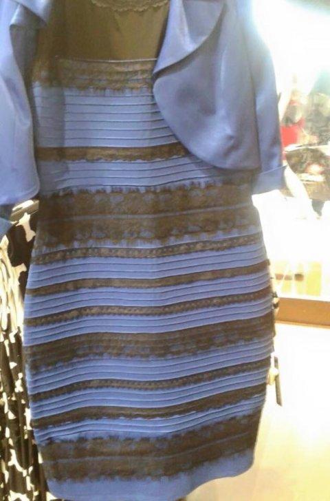 Fin de la polémica: así es el vestido que revolucionó las re