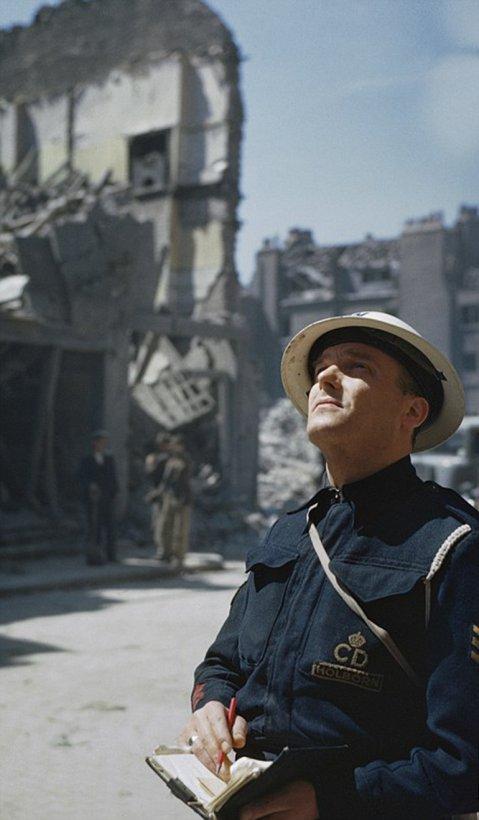Fotos en color de Londres en la Segunda Guerra Mundial