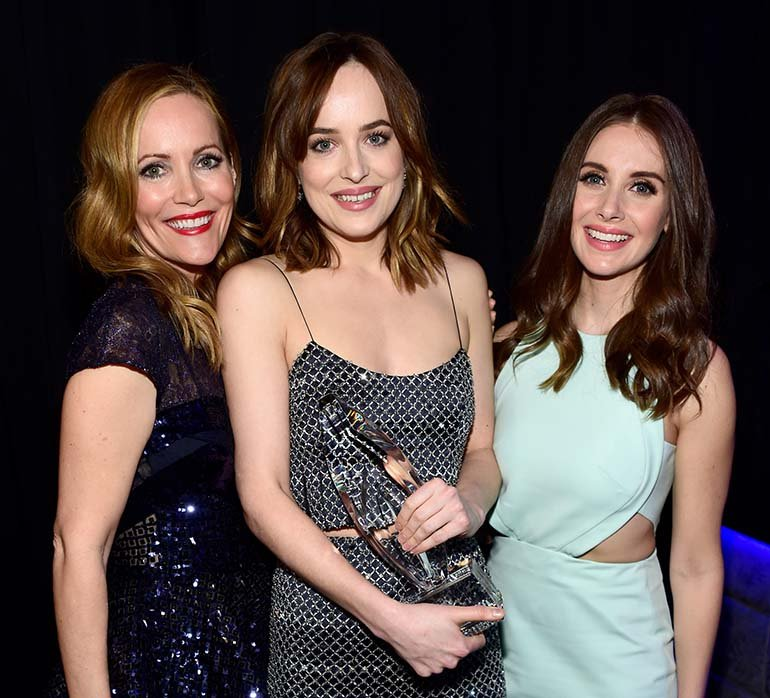 Dakota Johnson, Leslie Mann y Allison Brie