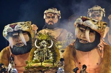 El carnaval deSan Pablo no tiene la fama del famoso carnaval de Río de Janeiro, pero la capital económica de Brasil también apuesta poruna fiesta en grande.