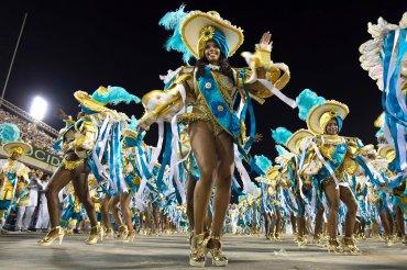 Las escuela de samba Villa Isabel