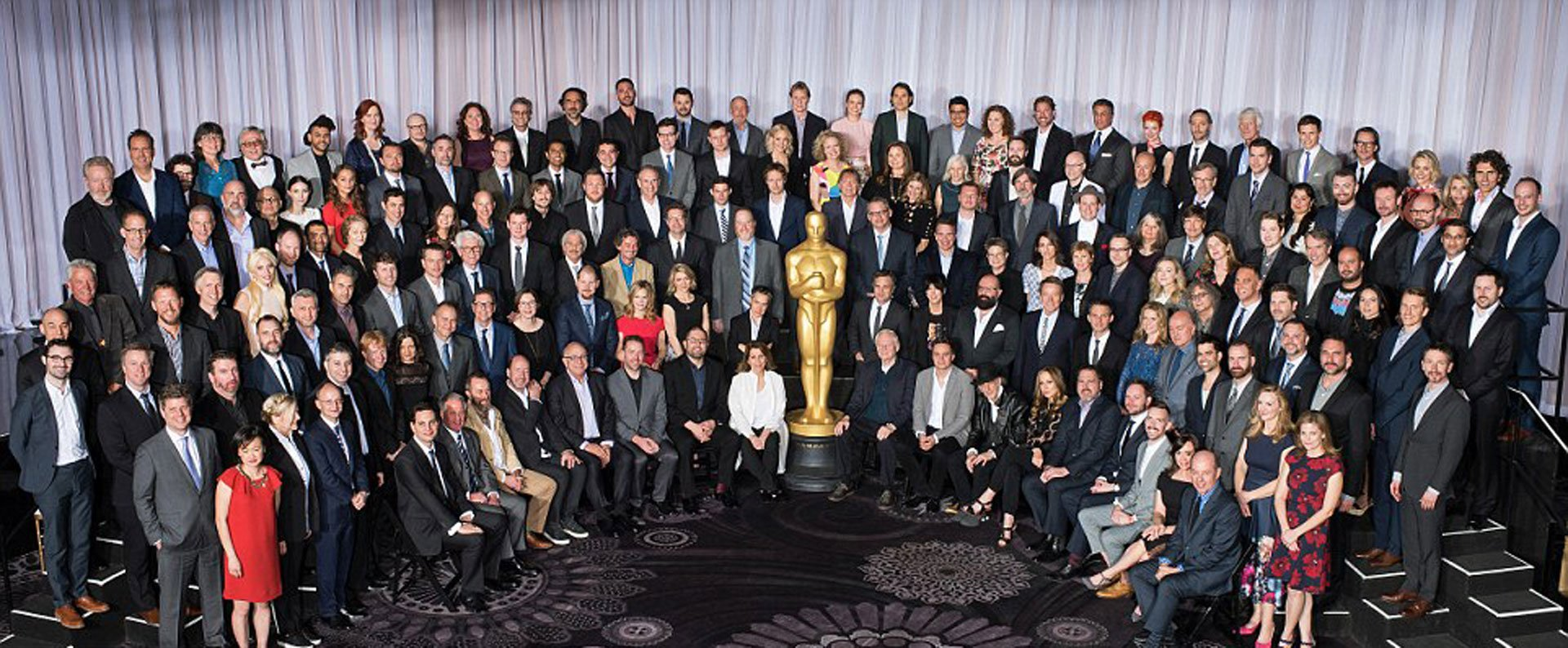 La foto del almuerzo de los Oscar que confirma la falta de diversidad en las nominaciones que despertó la indignación de los actores negros. Muchos, como Will Smith, llamaron a un boicot de la tradicional ceremonia