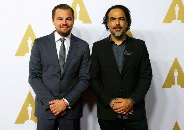 Leonardo Di Caprio y el director de The Revenant, Alejandro González Iñarritu
