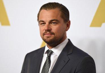 Leo Di Caprio en la alfombra roja. El actor norteamericano podría ganar su primer estatuilla por su actuación en The Revenant.
