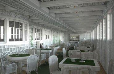 Café Parisien, otro de los lugares para cenar en el Titanic II