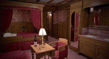 Los detalles de lujo para los camarotes de primera clase que ofrecerá el Titanic II