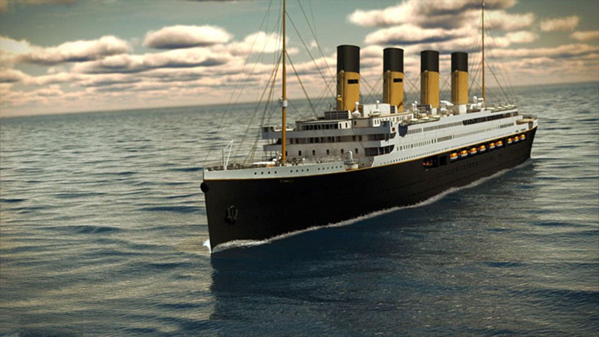 El Titanic II, la réplica proyectada por Blue Star Line que zarpará del puerto de Jiangsu, en China, hacia 2018