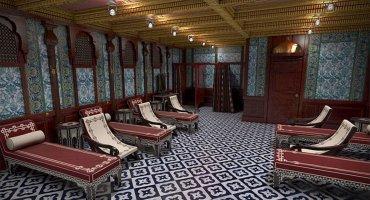 El baño turco que ofrecerá el Titanic II. Una versión de los spas que hoy ofrecen los supercruceros más modernos