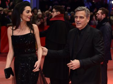George Clooney y su esposa Amal Alamuddin