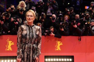 La actiz y presidente del jurado del festival, Meryl Streep, posa para los fotógrafos