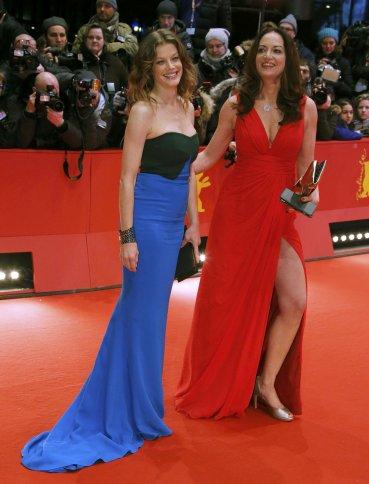 Las actrices Marie Baeumer y Natalia Woerner