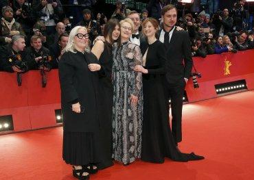 Brigitte Lacombe, Malgorzata Szumowska, Nick James, Meryl Streep, Alba Rohrwacher y Lars Eidinger