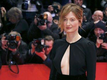 La actriz y miembro del jurado, Alba Rohrwacher