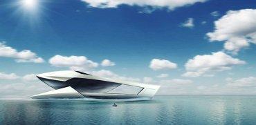 El CF8 tiene cine, sauna y un minisubmarino
