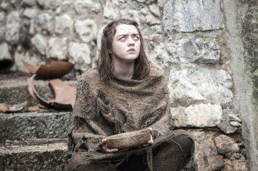 Arya Stark en los nuevos capítulos