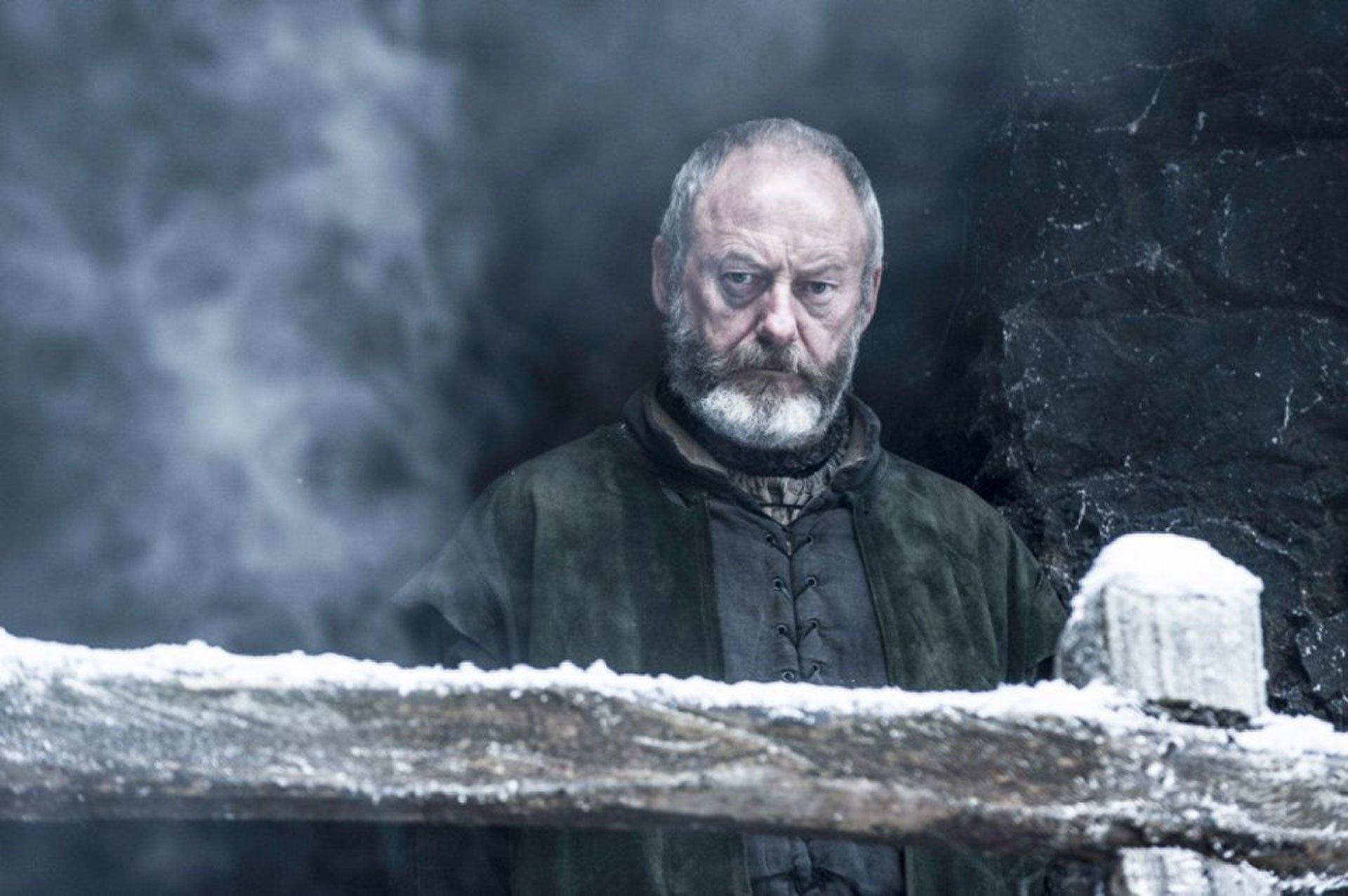 Davos Seaworth, interpretado por Liam Cunningham
