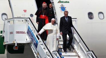 Se trata de la segunda vez que Francisco aterriza en territorio cubano