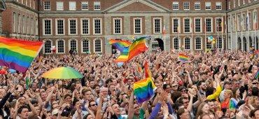 MAYO - Irlanda se convirtió en el primer país en resolver el matrimonio entre personas del mismo sexo mediante elecciones