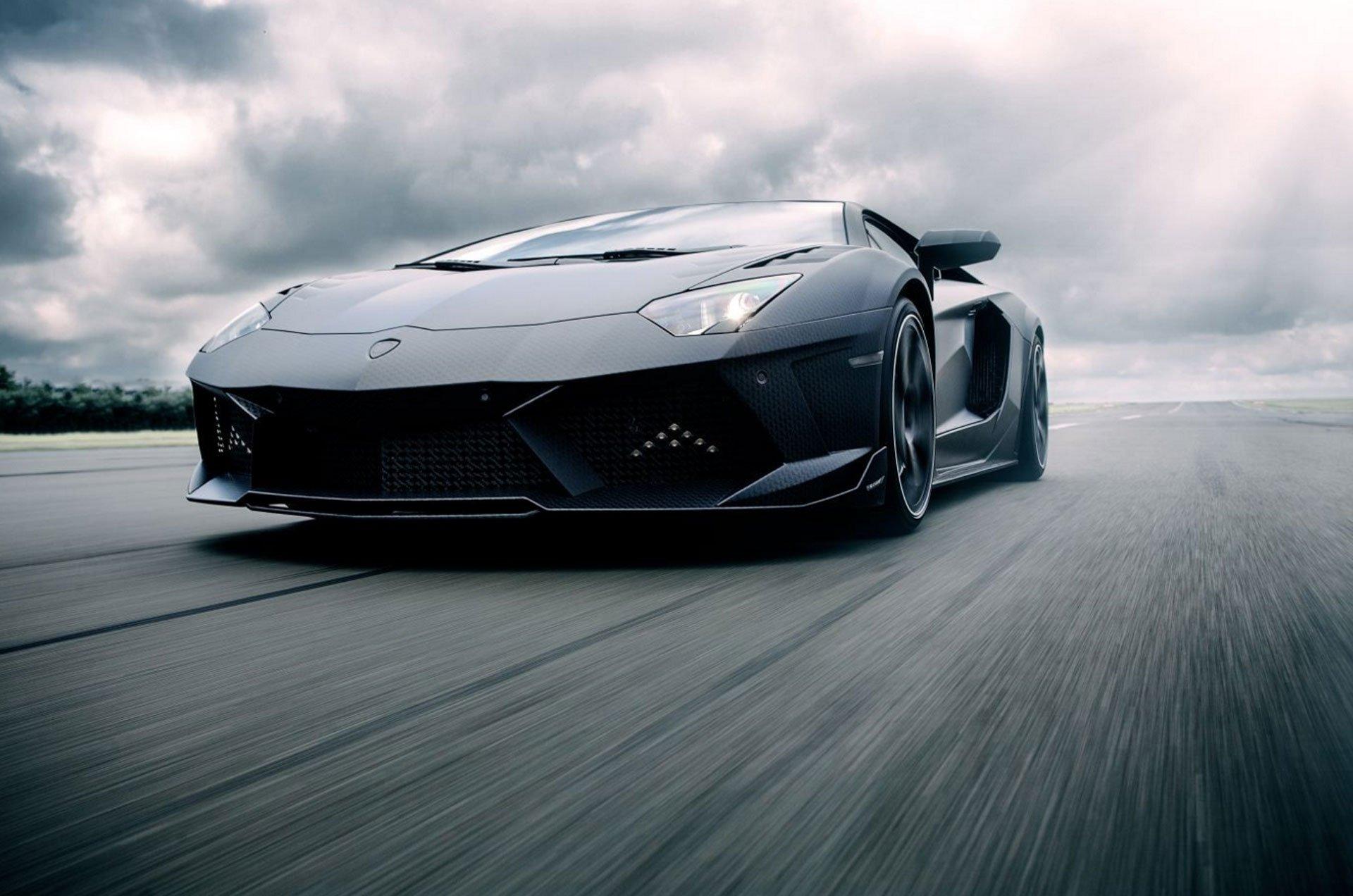 Lamborghini Aventador Carbonado tal como figura en el sitio de Mansory