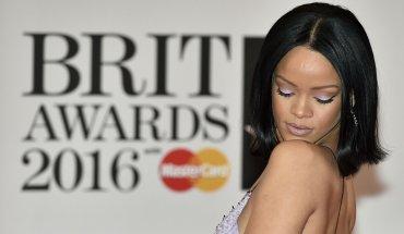 Rihanna mostró su bellísimo make up