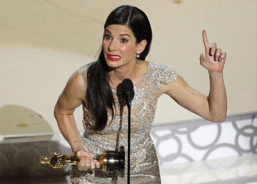 ¿Realmente merecía esto o sólo los terminé cansando?.Sandra Bullock, mejor actriz de 2010 porThe Blind Side (Un sueño posible)