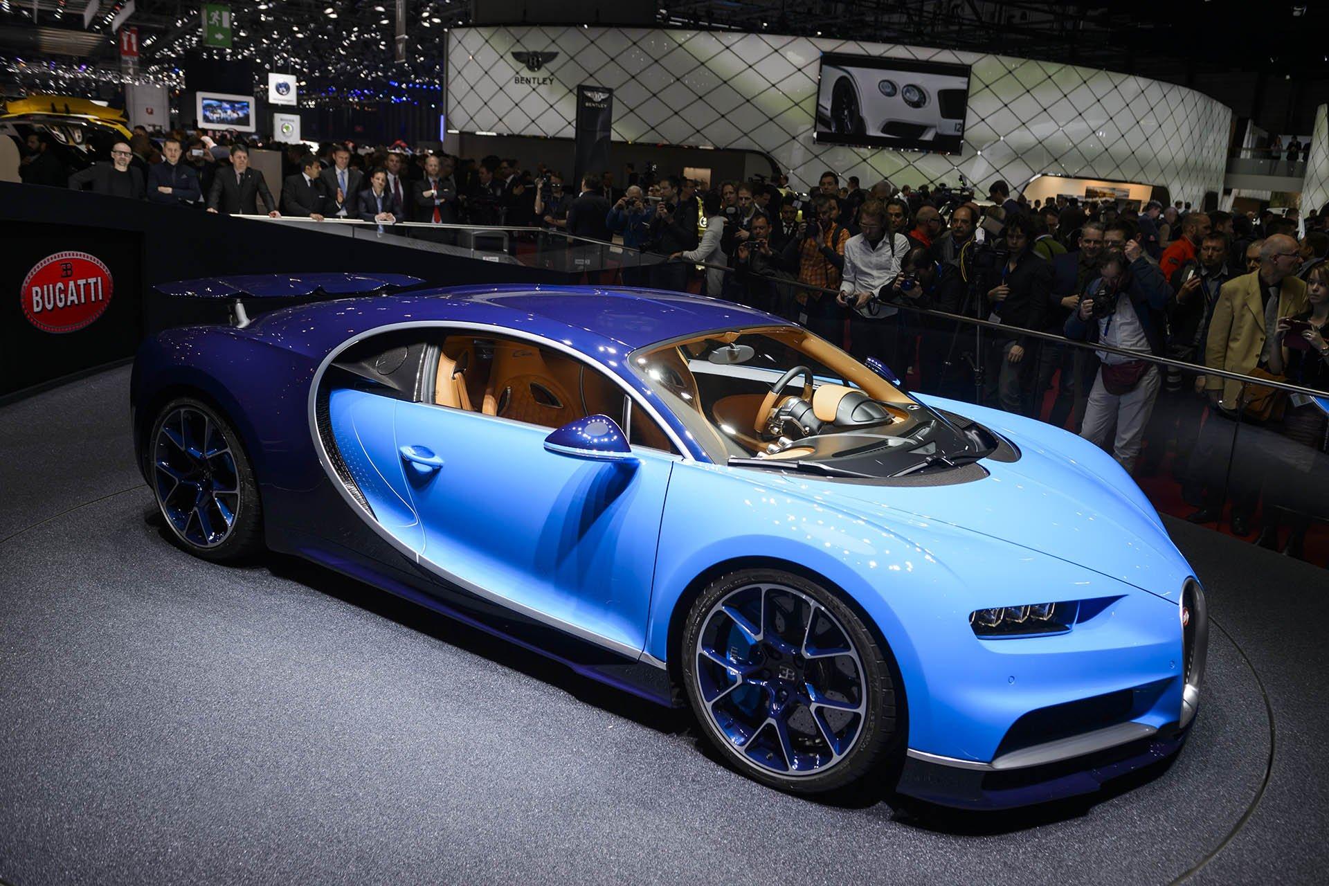 Nuevo Bugatti Chiron, la estrella indiscutible del Salón del Automóvil de Ginebra 2016.