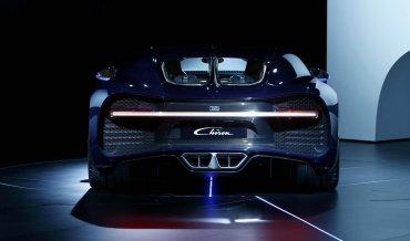El precio del nuevo Bugatti Chiron también será para pocos: 2.600.000 dólares. Sólo se construirán 500 unidades.