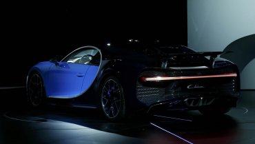 Otro de los atractivos delChirones el nuevo chasis que se adapta a cinco programas de conducción: Lift, EB Auto, Autobahn, Handling y Top Speed. Para todos los gustos.