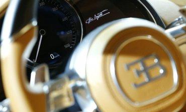 El Bugatti Chiron es más alto y ancho que su predecesor, el Veyron. Ofrece así más espacio y comodidad a quienes tengan la posibilidad de conducirlo.