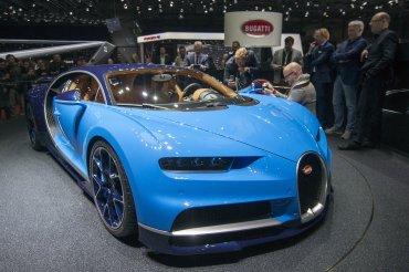 El nuevo Bugatti Chiron, la nueva estrella del Salón de Ginebra 2016.