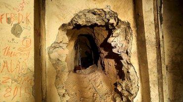 Más de 70 túneles fueron descubiertos en Sinjar. Todos hechos por los terroristas islámicos para eludir los bombardeos de la coalición.