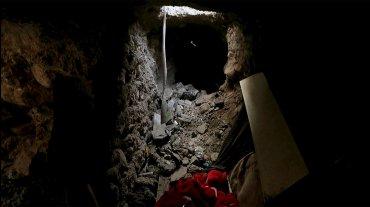 Muchos túneles fueron abandonados y en su interior los yihadistas colocaron explosivos.