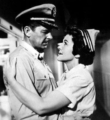 La única película en la que compartieron cartel fue Helicats of the Navy(Brujas de la Armada), de 1957. Nancy pronto dejó de actuar para dedicarse a su familia