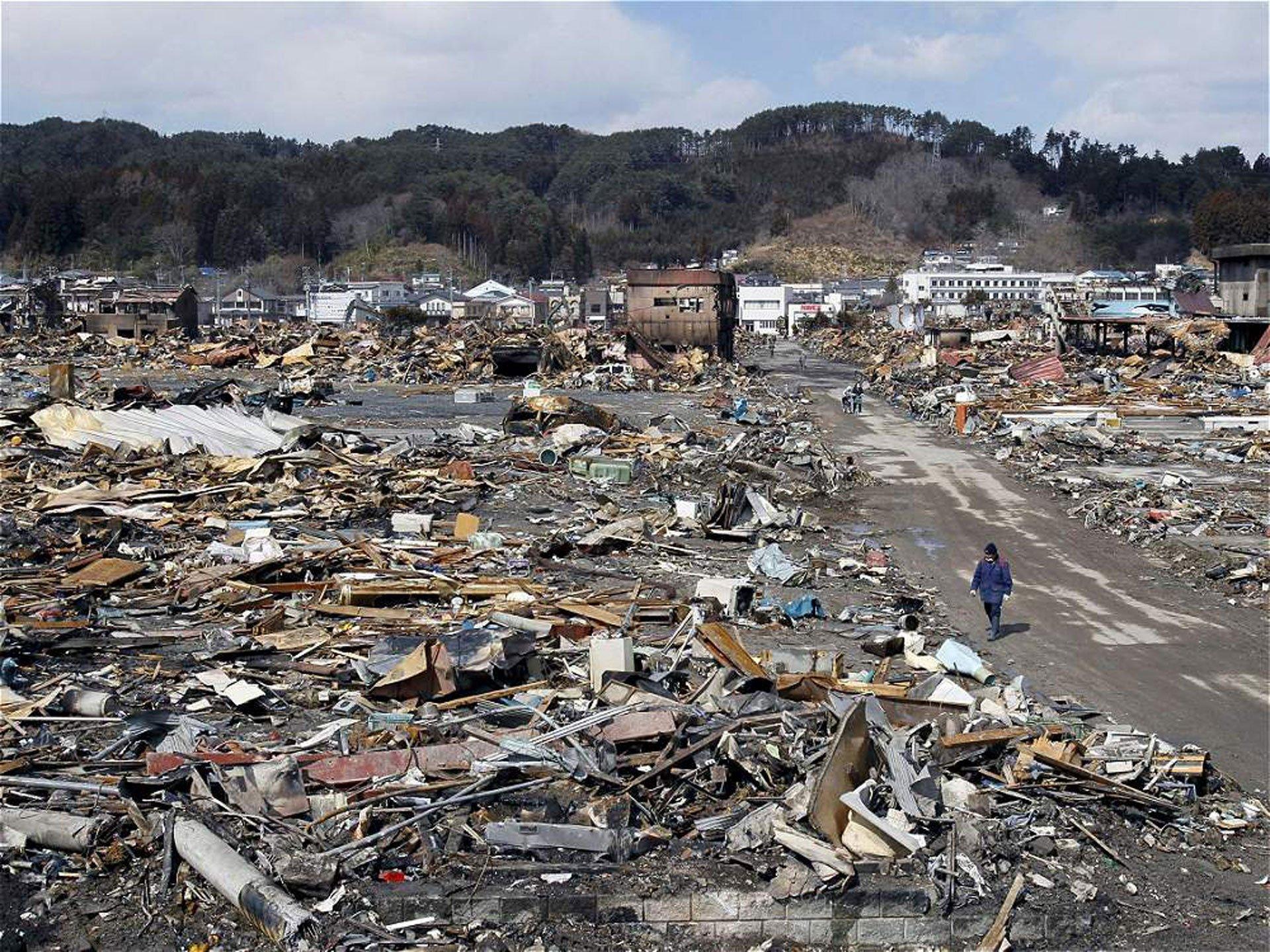 La ciudad de Yamada fue una de las más devastadas por el tsunami de 2011