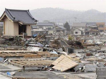 La ciudad de Iwaki, en Fukushima, completamente destrozada por el tsunami. La imagen fue tomada el 27 de marzo de 2011