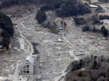 Imagen de la ciudad de Onagawa del 22 de marzo de 2011